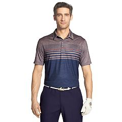 Men's IZOD SwingFlex Classic-Fit Striped Performance Golf Polo