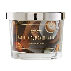 SONOMA Goods for Life™ Vanilla Pumpkin Latte 5-oz. Candle Jar