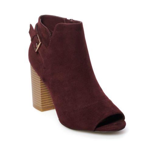 Apt. 9® Clock Women's Ankle Boots