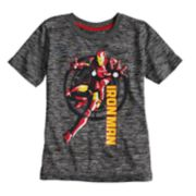 Boys 4-10 Jumping Beans® Marvel Iron Man Marled Active Tee