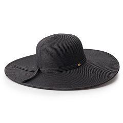 8623bab1 Women's Scala Wide Brim Sun Hat. Turquoise Indigo Black Natural Brown Toast  White Coffee Black. sale