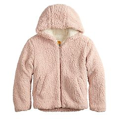Girls 7-14 C&C California Sherpa Midweight Jacket
