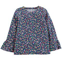 Girls 4-12 OshKosh B'gosh® Print Bell-Sleeve Tee