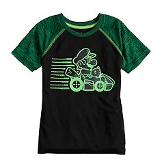 Boys 4-10 Jumping Beans® Super Mario Bros. Raglan Active Tee