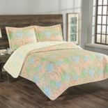 Grand Collection Biscayne Bay Reversible Quilt Set