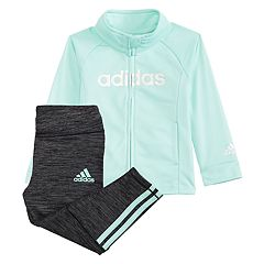 Girls 4-6x adidas Tricot Jacket & Leggings Set
