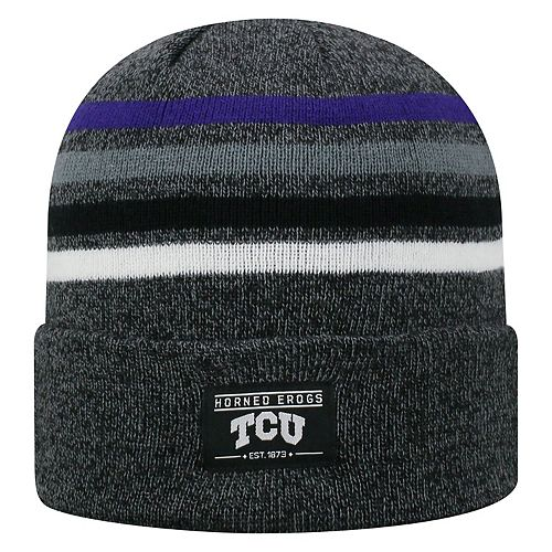 new arrivals 02238 ab5a9 ... wholesale adult top of the world tcu horned frogs upland beanie a80cc  d5e6b