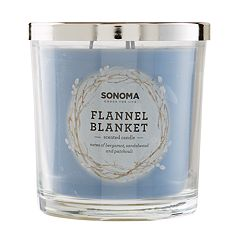 SONOMA Goods for Life™ Flannel Blanket 14-oz. Candle Jar