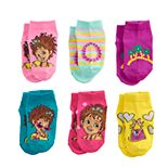 Disney's Fancy Nancy Toddler Girl 6-pack Short No-Show Socks