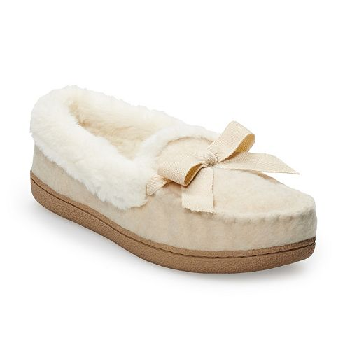 Women's SONOMA Goods for Life™ Hatchi Moccasin Slippers