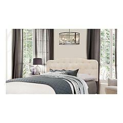 Hillsdale Furniture Nicole Button & Tuck Headboard & Frame