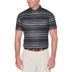 Men's Grand Slam Regular-Fit Space-Dyed Performance Golf Polo