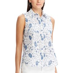 Women's Chaps Relaxed Sleeveless Shirt