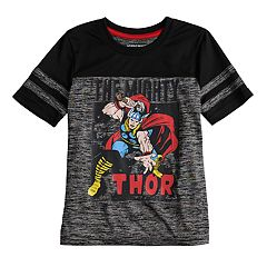 Boys 4-10 Jumping Beans® 'The Mighty Thor' Marled Active Tee