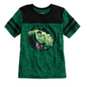 Boys 4-10 Jumping Beans® Marvel The Hulk Marled Striped Active Tee