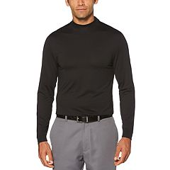Men's Grand Slam Mock Neck Stretch Ventilated Golf Polo