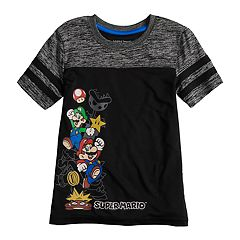 Boys 4-10 Jumping Beans® Super Mario Bros. Marled Active Tee