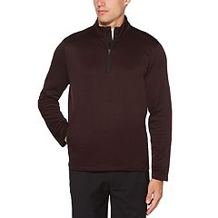 Men's Grand Slam Water Repellent Fleece Quarter-Zip Golf Pullover