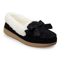 Women's SONOMA Goods for Life™ Basic Microsuede Moccasin Slippers