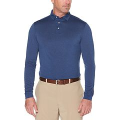 Men's Grand Slam Regular-Fit Space-Dyed Knit Golf Polo