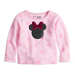 Disney's Minnie Mouse Toddler Girl Softest Fleece Sweatshirt by Jumping Beans®