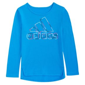Girls 4-6x adidas Vented Graphic Tee