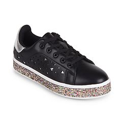 Wanted Women's Star Cutout Sneakers