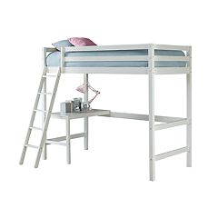 Hillsdale Furniture Caspian Twin Study Loft Bed