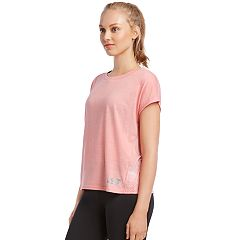 Women's Skechers Framework Burnout Short Sleeve Tee