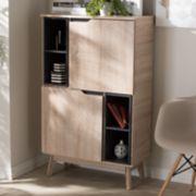 Baxton Studio Fella Storage Cabinet