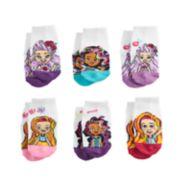 Toddler Girl Sunny Day 6-pack No-Show Socks