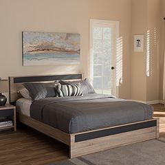 Baxton Studio Jamie Queen Platform Bed