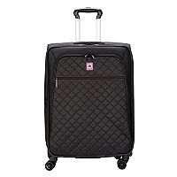 Delsey Quilted Spinner Trolley Luggage