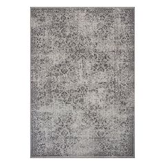 KAS Rugs Distressed Traditional Gray Rug