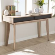 Baxton Studio Fella 2-Drawer Desk
