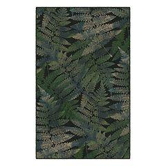 Brumlow Mills Ferns Leaf Printed Rug