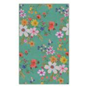 Brumlow Mills Amanda Floral Printed Rug