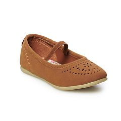 Carter's Toddler Girls' Laser-Cut Flats