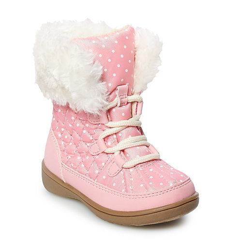 c9625b32fe80 Carter s Mika Toddler Girls  Water Resistant Winter Boots