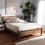 Baxton Studio Torino Open Frame Platform Bed