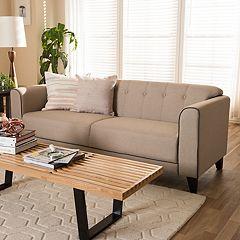 Baxton Studio Lottie Tufted Sofa