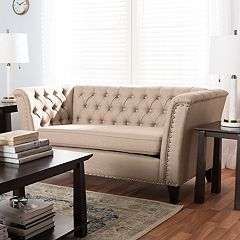 Baxton Studio Prima Tufted Loveseat