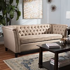 Baxton Studio Prima Tufted Sofa