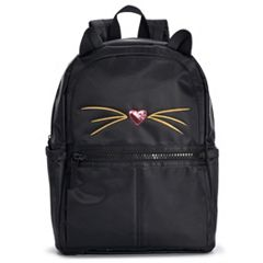 T-Shirt & Jeans Cat Large Dome Backpack