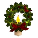 Wreath Christmas Night Light