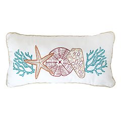 C&F Home Multi Shells Oblong Throw Pillow
