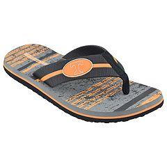 Men's Tennessee Volunteers Striped Flip Flop Sandals