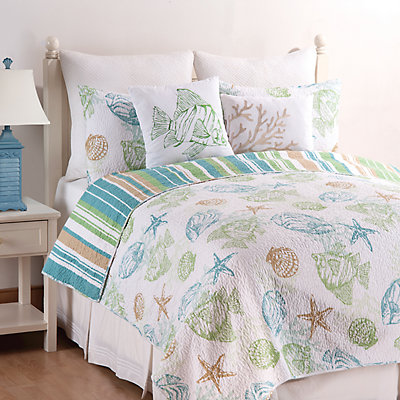 C&F Home Reef Point Quilt Set