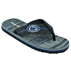 Men's Penn State Nittany Lions Striped Flip Flop Sandals