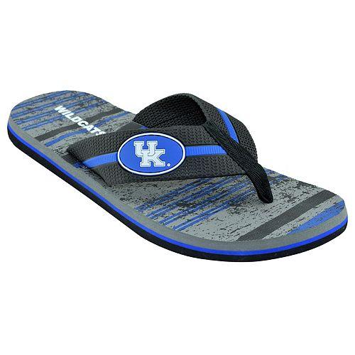 Men's Kentucky Wildcats ... Striped Flip Flop Sandals high quality online cheap sale finishline sale 2015 get authentic for sale popular online kXtKEmKOj